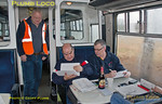Passengers & BLS Steward Gary Lonsdale,  EDF Tracker Tour, 1Z23, 23rd January 2016