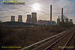 General View, West Burton Power Station, BLS EDF Tracker Tour, 1Z23, 23rd January 2016