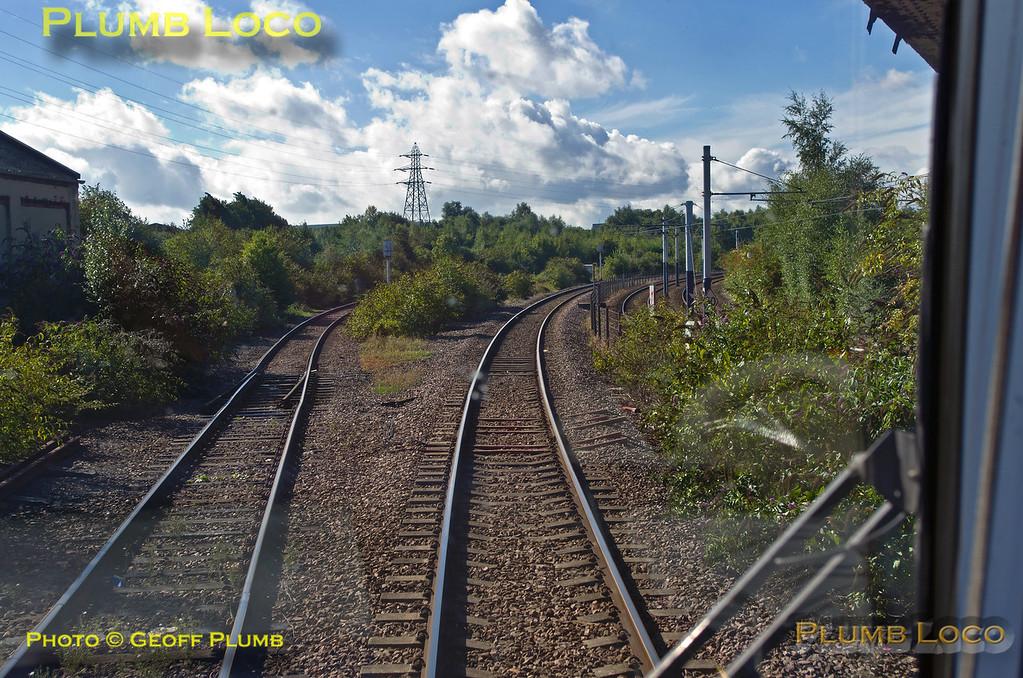 TPE Tracker Tour, Tinsley South Junction, 8th September 2013