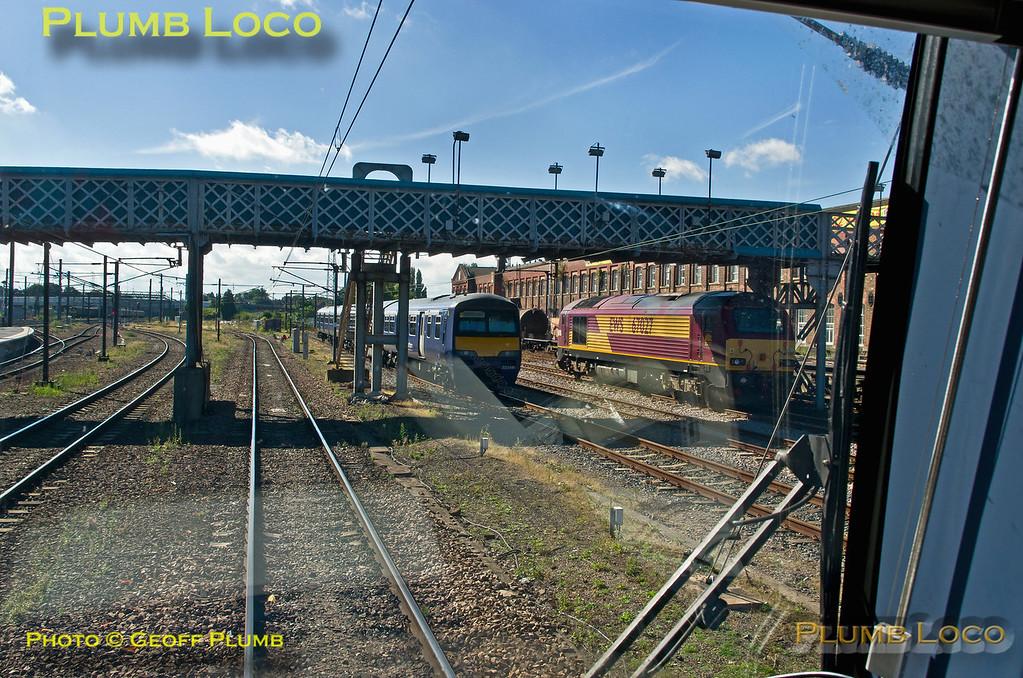 TPE Tracker Tour, Doncaster Station, 8th September 2013