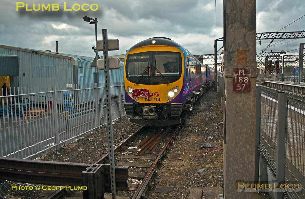 TPE Tracker Tour, Holding Siding, Manchester Piccadilly, 8th September 2013