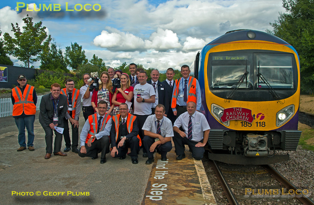 TPE Tracker Tour, TPE Train Crew, Reddish South Station, 8th September 2013