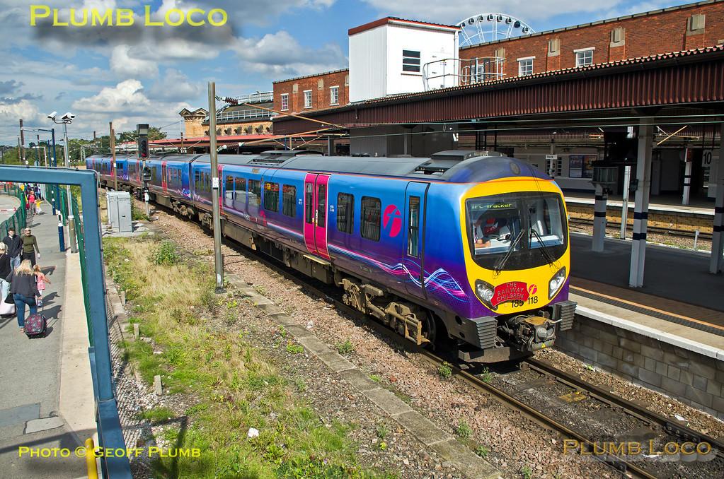 TPE Tracker Tour, York Station, 8th September 2013
