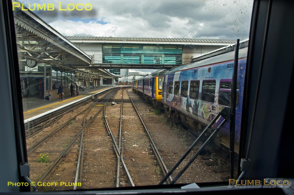 TPE Tracker Tour, Sheffield Station, 8th September 2013