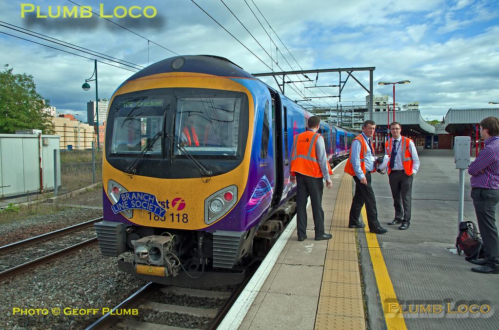 185 118, TPE Tracker Tour, Stockport, 1Z70, 8th September 2013