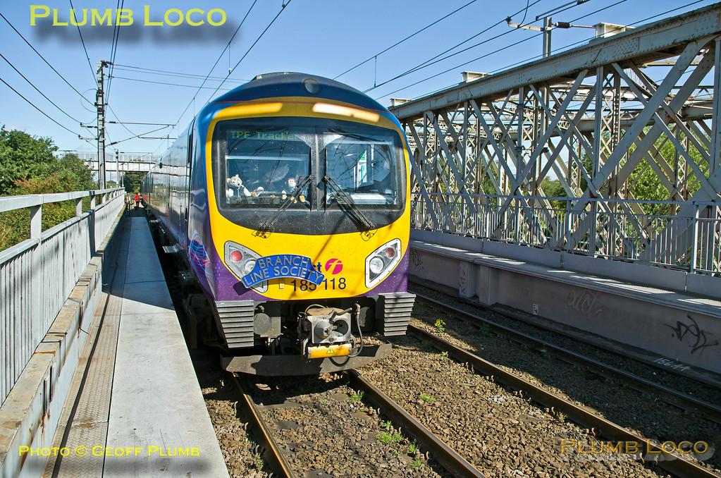 TPE Tracker Tour, Marshgate Junction Doncaster, 8th September 2013