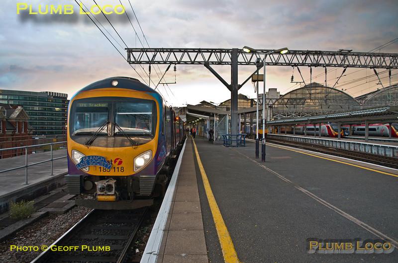 TPE Tracker Tour, Manchester Piccadilly Platform 14, 8th September 2013