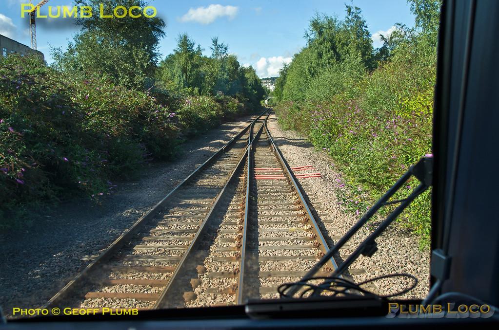 TPE Tracker Tour, Tinsley East Junction, 8th September 2013