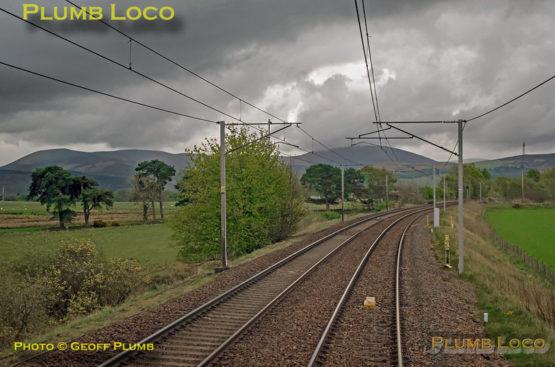"BLS ""Gourock Growler"", PoV 68018, near Symington, 27th April 2019"