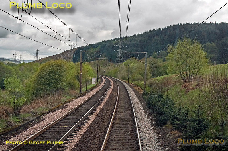"BLS ""Gourock Growler"", PoV 68018, Near Beattock, 27th April 2019"