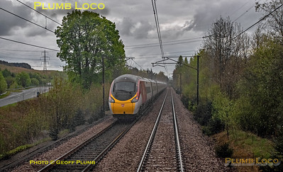 "BLS ""Gourock Growler"", PoV 68018, UID Pendolino, Beattock, 27th April 2019"