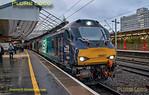 """BLS """"Gourock Growler"""", 88007 & 88002, 1Z85, Crewe Platform 11, 27th April 2019"""