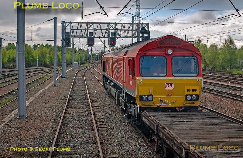 "BLS ""Gourock Growler"", PoV 68018, 66100, Mossend, 27th April 2019"