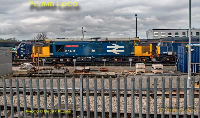 "BLS ""Gourock Growler"", PoV 68018, 37401, Kingmoor, 27th April 2019"