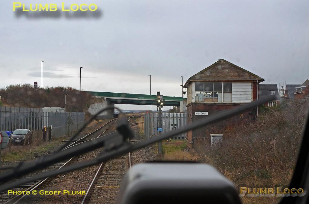"PoV 43480, BLS ""Grand Farewell"", Ryhope Grange Signal Box, 17th December 2017"