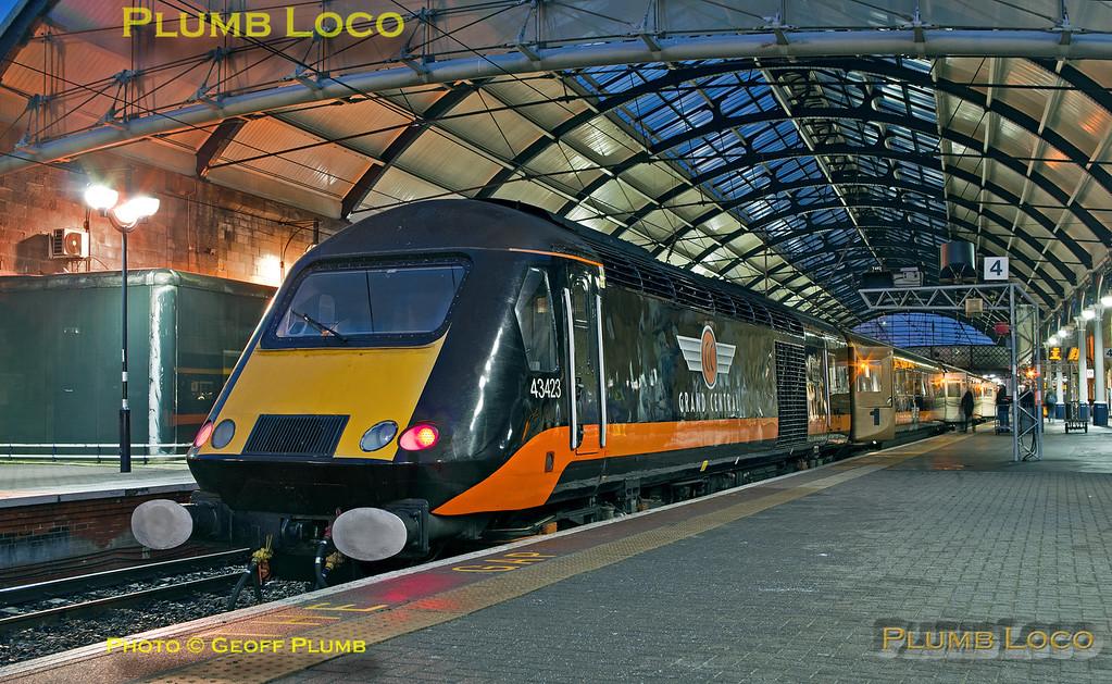 "43423, BLS ""Grand Farewell"", Newcastle Platform 4, 1Z41, 17th December 2017"