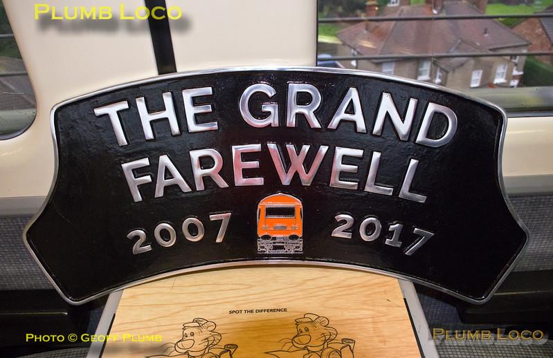 "BLS ""Grand Farewell"", Headboard, Yarm, 17th December 2017"
