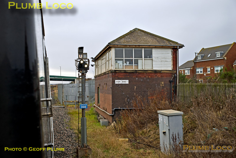 "PoV BLS ""Grand Farewell"", Ryhope Grange Signal Box, 17th December 2017"