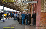 FGW Tracker Tour II, Taunton Station, Loo Queue, 12th October 2013