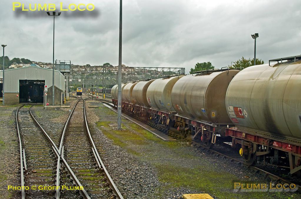 FGW Tracker Tour II, Laira Depot, Through Siding 3, 2Z11, 12th October 2013