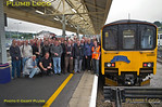 FGW Tracker Tour II, 150 927 & BLS Tour Group, Exeter St. David's, 12th October 2013