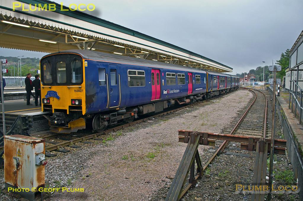 FGW Tracker Tour II, Exeter St. David's, Platform 2, 12th October 2013