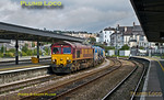 66187 & 66074, Plymouth Station, 3J13, 12th October 2013