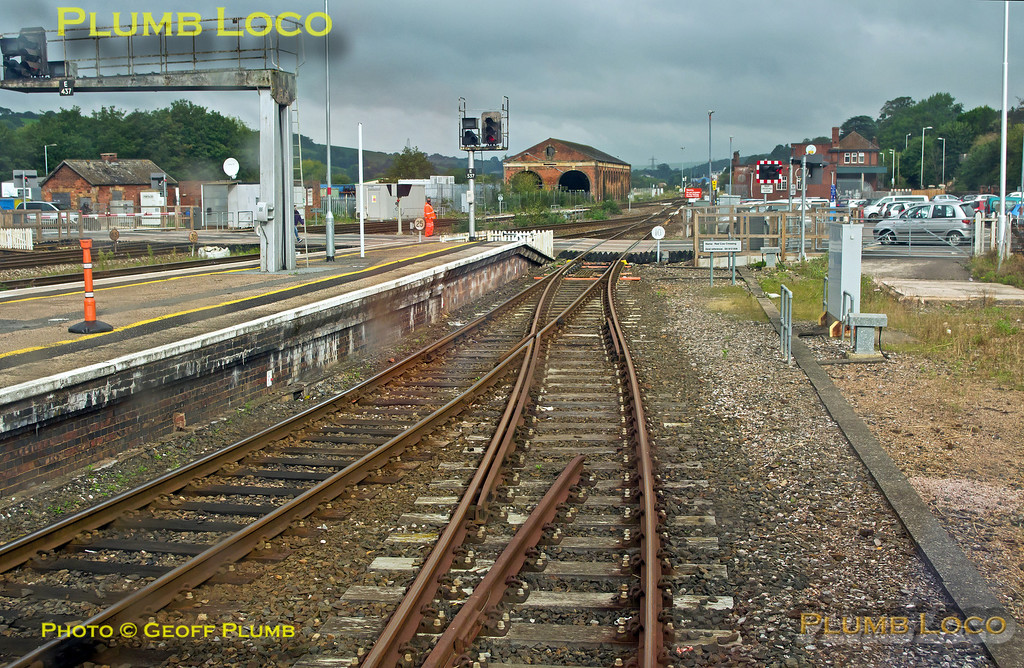 FGW Tracker Tour II, Exeter St. David's, Hyde Park Siding, 12th October 2013