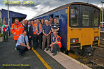 FGW Tracker Tour II, FGW Staff & BLS Stewards, Totnes, 12th October 2013