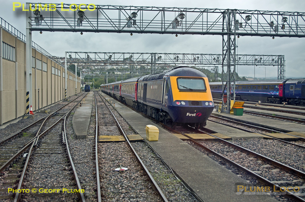 FGW Tracker Tour II, Laira Depot, Through Siding 2, 2Z11, 12th October 2013