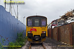 150 927, FGW Tracker Tour III, Cattewater, EMR scrap compound, 2Z11, 10th May 2014