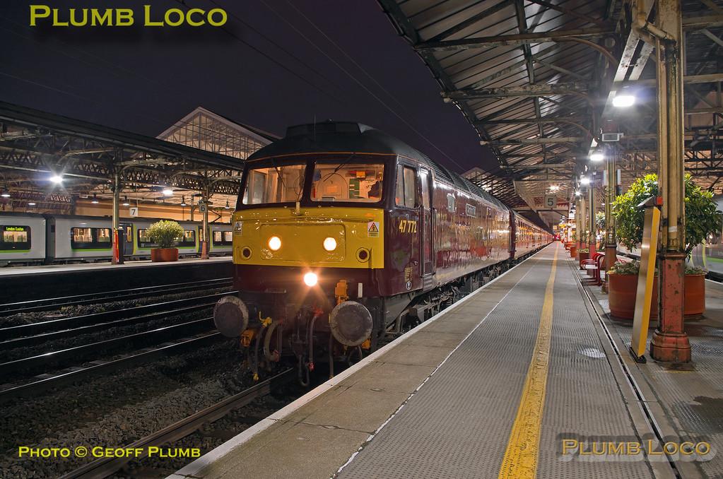 47772, Crewe Platform 5, 5Z48, 28th April 2018