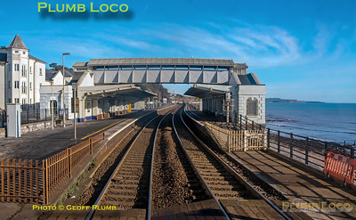 "PoV 47826, BLS ""Looe Brush"", Dawlish Station, 3rd February 2019"