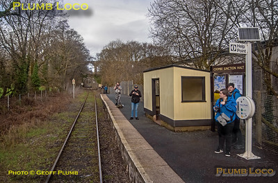 "PoV 47826, BLS ""Looe Brush"", Coombe Junction Halt, 3rd February 2019"