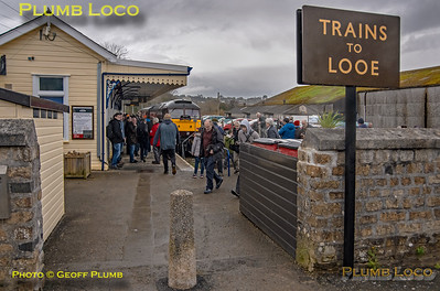 "47772, BLS ""Looe Brush"", Liskeard Platform 3, 3rd February 2019"