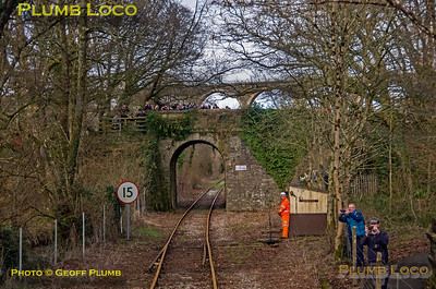 "PoV 47826, BLS ""Looe Brush"", Coombe No. 2 Ground Frame, 3rd February 2019"
