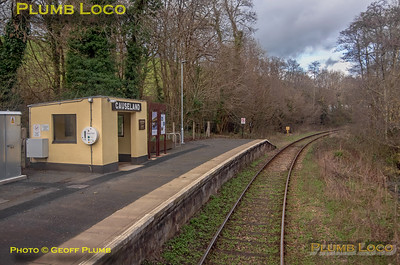 "PoV 47826, BLS ""Looe Brush"", Causeland Station, 3rd February 2019"