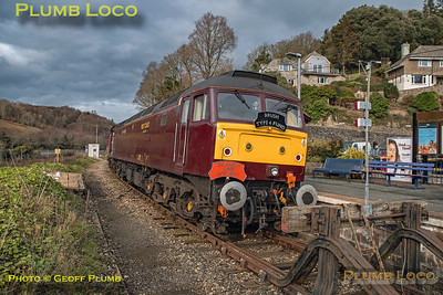 "47772, BLS ""Looe Brush"", Looe Station, 3rd February 2019"