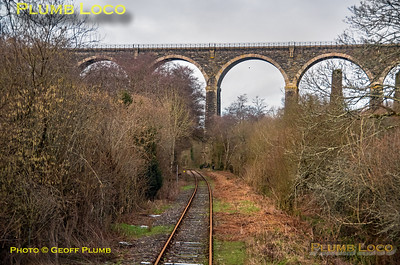 "PoV 47826, BLS ""Looe Brush"", Moorswater Viaduct, 3rd February 2019"