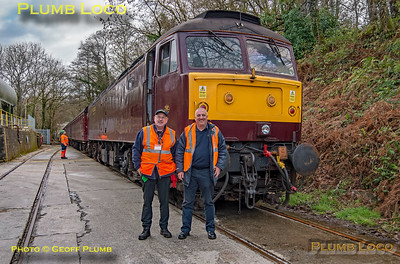 "47826, BLS ""Looe Brush"", Moorswater, Crew Photo, 3rd February 2019"