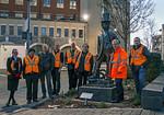 BLS Group, Brunel Statue, Bristol, 3rd February 2019