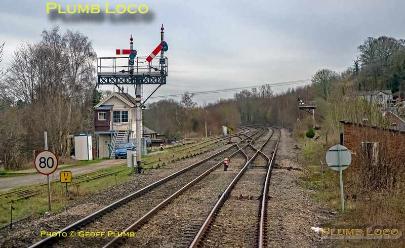 "BLS ""Marching Crompton II"", PoV 47851, Pontrilas Signal Box, 23rd March 2019"