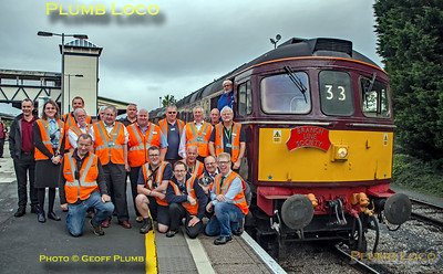 """BLS """"Marching Crompton"""", Group Shot, Hereford, 27th August 2018"""