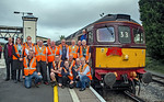 "BLS ""Marching Crompton"", Group Shot, Hereford, 27th August 2018"