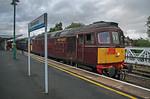 "33029 & 33207, BLS ""Marching Crompton"", Shrewsbury Platform 7, 27th August 2018"