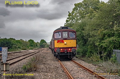 """33029, BLS """"Marching Crompton"""", Tremains DPL, 27th August 2018"""