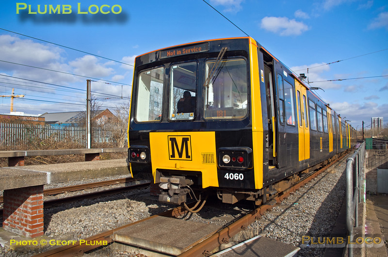"Metro No. 4060, BLS ""Metro Meanderer"", Stoddart Street Sidings, 25th February 2018"