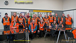 "BLS ""Metro Meanderer"", Group Shot, Gosforth Depot, 25th February 2018"