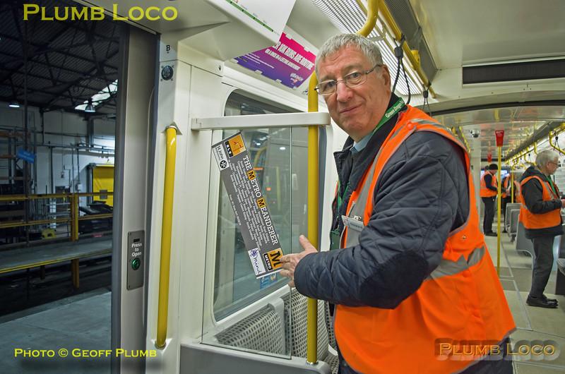 "BLS Stewards, BLS ""Metro Meanderer"", Gosforth, 25th February 2018"