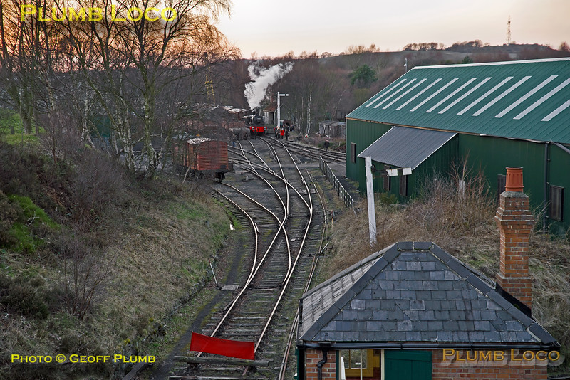 Tanfield No. 3, Marley Hill, 25th February 2018